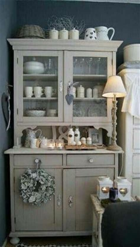 Grillage A Poule 291 by Armoire Patin 233 E Meuble Biblioth 232 Que Gris Shabby Chic