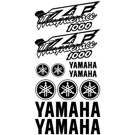 Aufkleber Yamaha Thunderace wandtattoos folies yamaha yzf thunderace 1000 aufkleber set