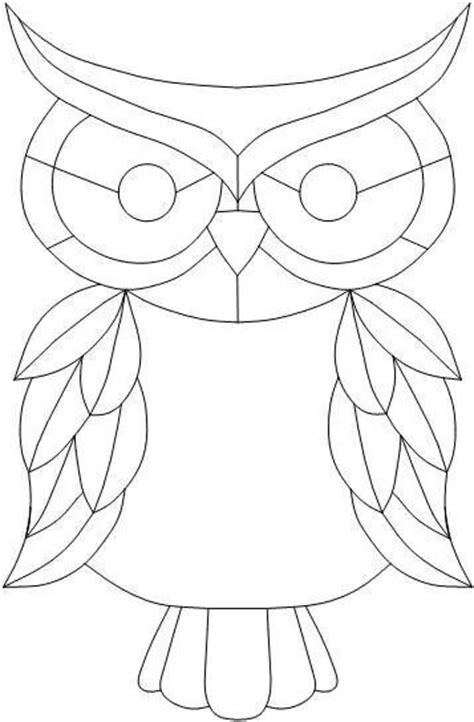 owl mosaic coloring page 536 best images about coloring owls on pinterest