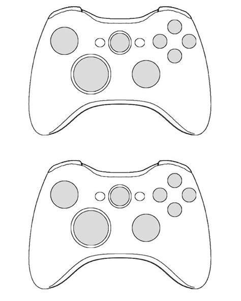 controller card template 360 controller template for the invites halo xbox bday
