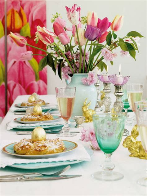 spring table settings ideas easy easter centerpieces and table settings for spring