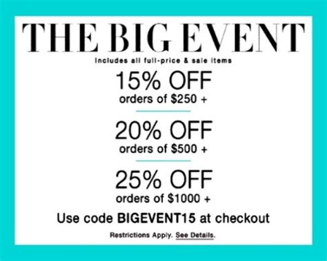 Shopbop Discount Code Which Includes Sale Items by Sale Alert The Shopbop Big Event Promo Code Included