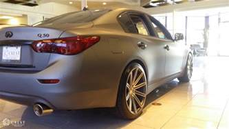 Infiniti Q50 Exhaust Crest Infiniti Q50 With Exhaust Air Intakes More