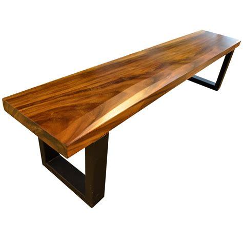 metal leg bench bench suar 150 metal leg furniture appliances fortytwo