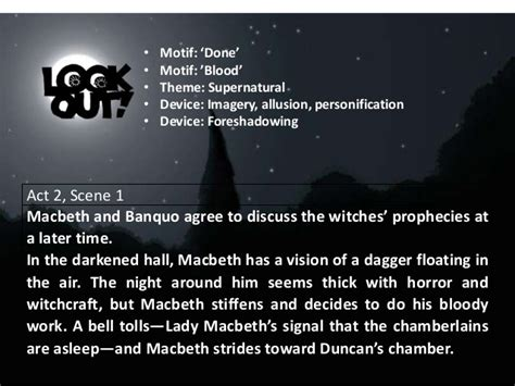 themes in macbeth dagger soliloquy macbeth overview ppt