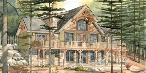 Custom Cottage House Plans by Top 10 Normerica Custom Timber Frame Home Designs