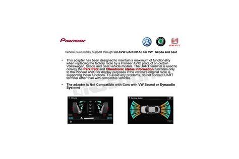 comandi al volante pioneer pioneer cd for uar 001ae interfacce comandi al volante
