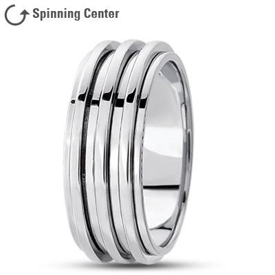 spinner wedding bands from mdc diamonds