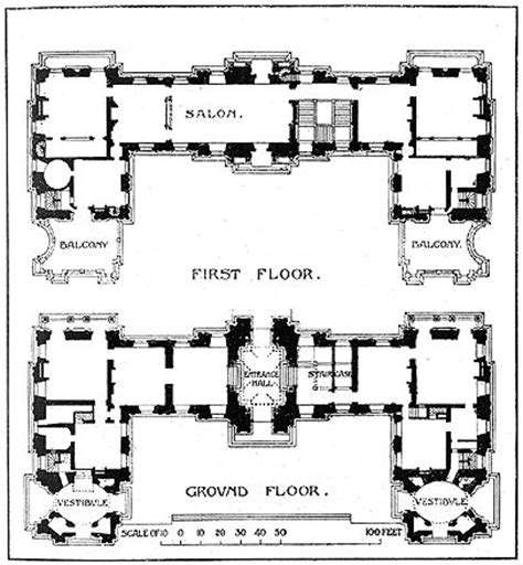 chateau homes floor plans ch 226 teau de maisons lafitte floor plans castles