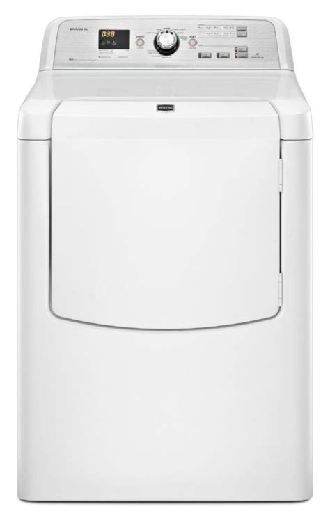 maytag he top load gas dryer 7 0 cu ft mgdb725bw the home depot canada