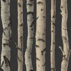 new birch tree woods branches jungle forest print 10m