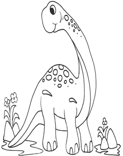 Brachiosaurus Coloring Page Coloring Pages Brachiosaurus Coloring Page