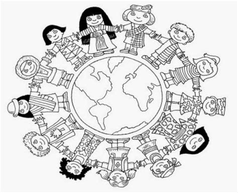 Cultural Diversity Coloring Pages Coloring Pages Multicultural Colouring Pages