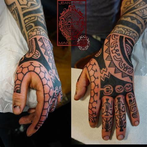 tatouage polynesien polynesian tattoo hand tattoo polynesien