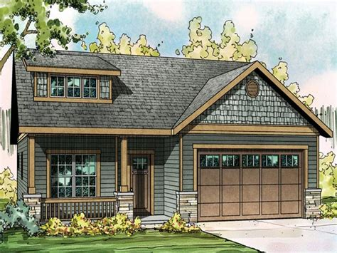craftsman style house plans small