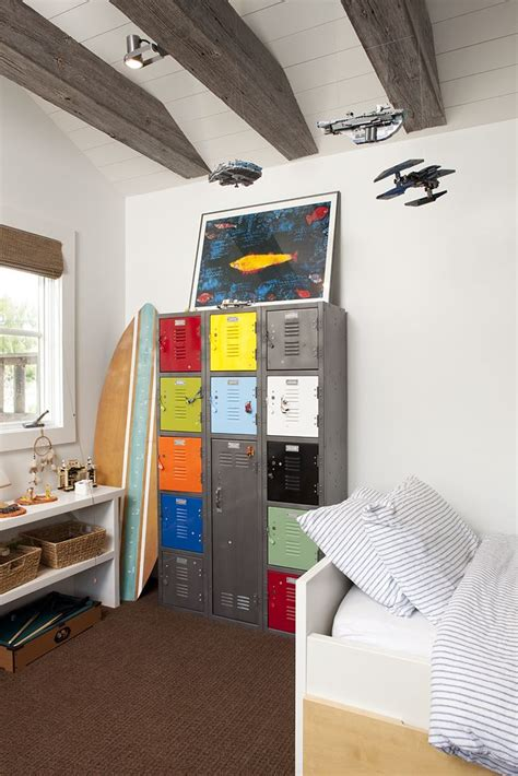 boys bedroom locker repurposed metal locker in boys bedroom kidesign pinterest