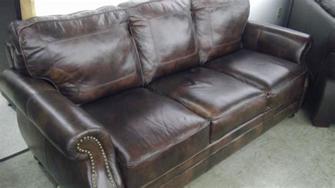 nice leather sofa very nice abbyson living leather sofa all4u