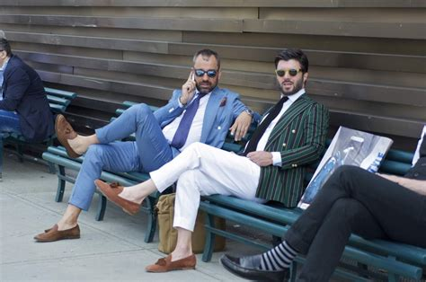 loafers with or without socks pitti uomo 86 style day i gentleman s gazette