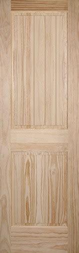 8 Panel Interior Wood Doors by Discount 8 0 Quot 2 Panel V Groove Pine Interior Wood Door Slab