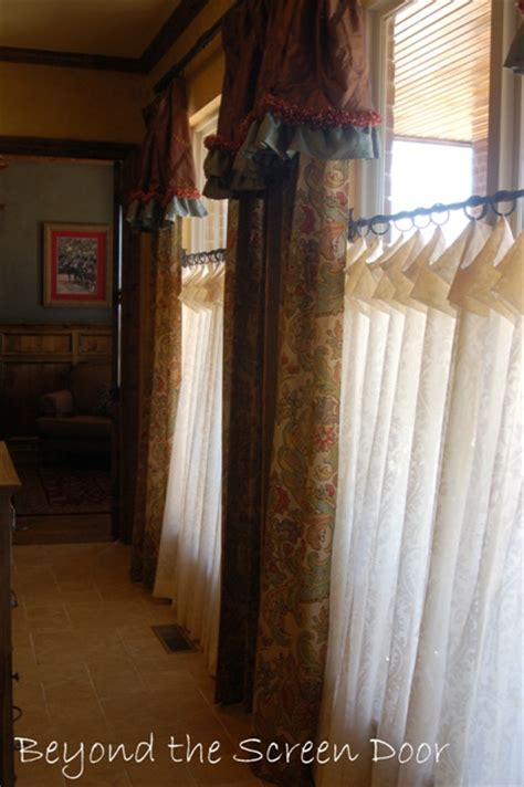 cafe length curtains how to choose the best length for your curtains beyond