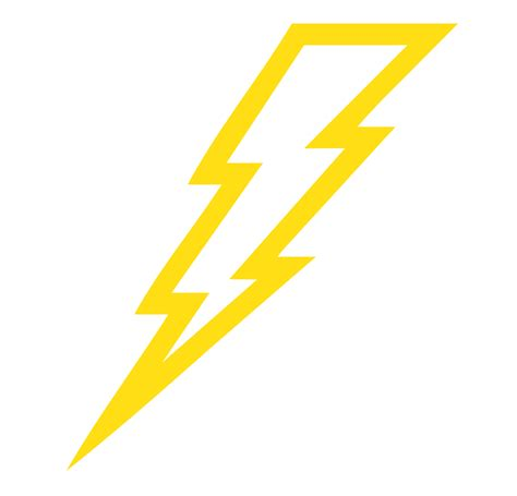 lightning bolt template clipart best