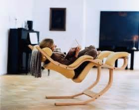 This modern rocking chair is not designed for old ladies in retirement