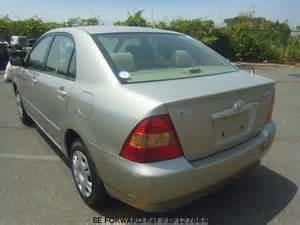 Toyota Corolla Beforward Used 2002 Toyota Corolla Sedan X Limited Ta Nze121 For