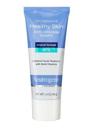 neutrogena healthy skin anti wrinkle cream spf  review allure