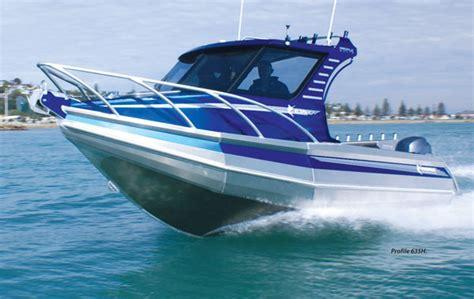 aluminium pontoon boats new zealand dive new zealand reviews firman marines profile 635h