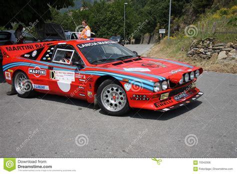 Lancia 037 Rally Lancia Rally 037 Editorial Photo Image 70342006
