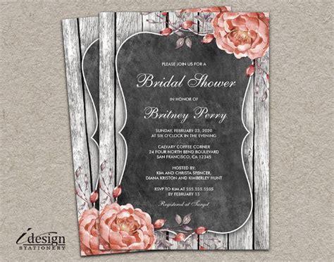 bridal shower invitation examples word psd ai