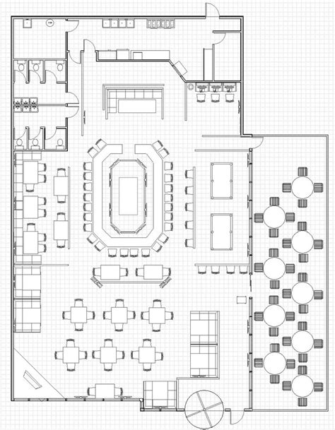 restaurant kitchen floor plan best 25 restaurant plan ideas on restaurant