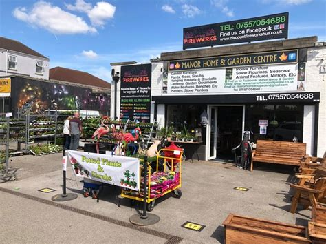 manor home garden centre added   manor home