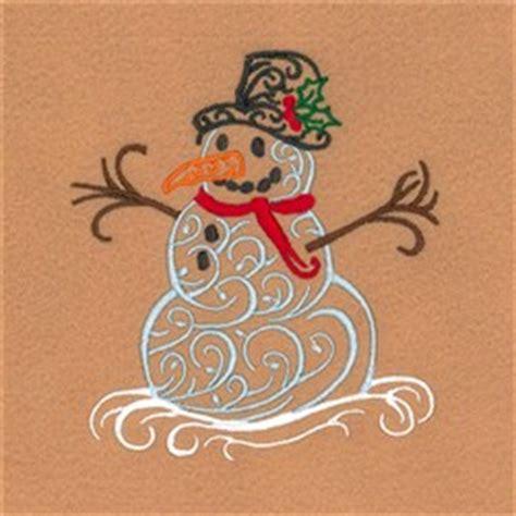 starbird inc embroidery design filigree snowman 4 40