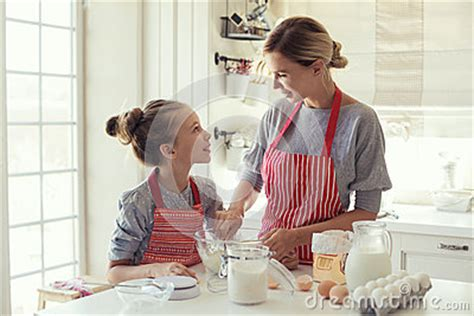 the knife mom used mother s day kitchen gifts rada blog mother and daughter are cooking stock photo image 58858984
