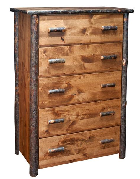 Chest Of Drawers Rustic by Amish Rustic Lodge Chest Of Drawers