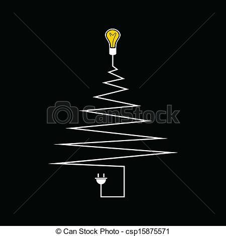 christmas tree electric parts vectors illustration of electric tree a vector illustration csp15875571 search