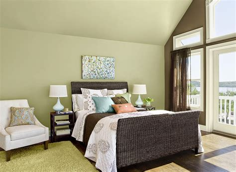 green paint for bedroom walls guilford green bedroom walls interiors by color