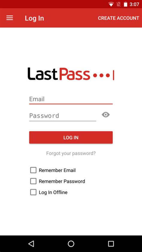 last pass apk android user manual