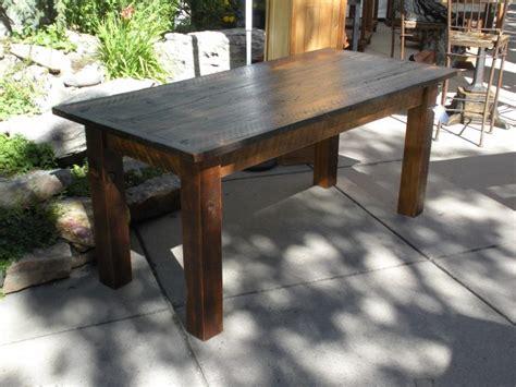 barn board dining room tables dining table furniture reclaimed barn board dining table