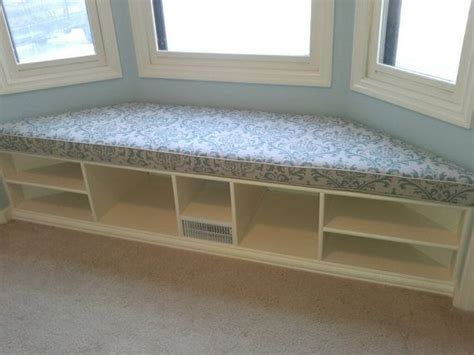 bay window bench with storage diy bay window storage bench woodworking projects plans