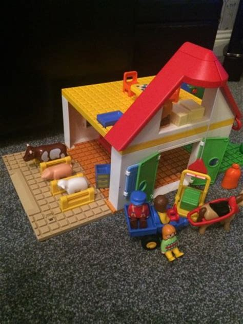 Playmobil 1 2 3 Large Farm playmobil 123 large farm for sale in donabate dublin from