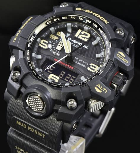 G Shock Gwg 1000 New new casio g shock mudmaster tough solar sensor