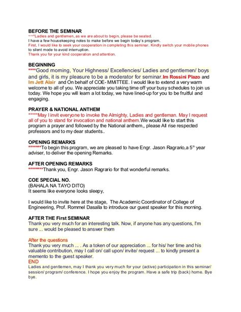 emcee script for christmas party emcee script