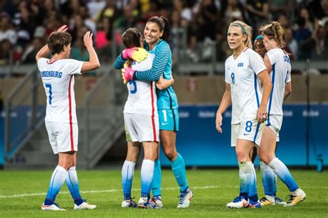 usa womens soccer olympics schedule 2016 u s women take center stage at the rio olympics here now