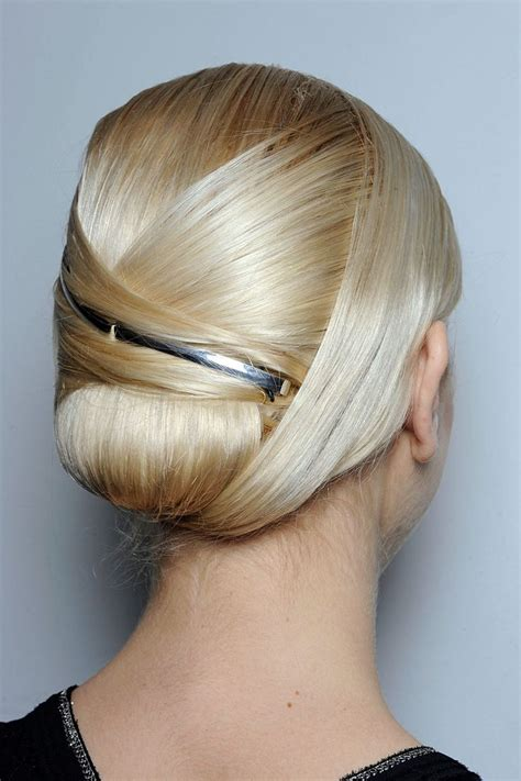 Origami Hair - 15 and chic sleek updo hairstyles for