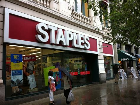 staples office equipment west side new york