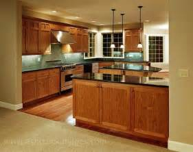 Cherry Oak Kitchen Cabinets Kitchen Oak Cabinets Countertops Floor And Backsplash Remodel Cabinets Cherry
