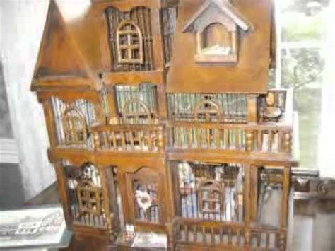 antique doll houses for sale rare antique german birdcage dollhouse found in morristown youtube