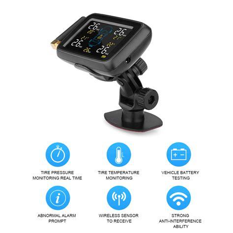 Lcd Wireless lcd wireless car truck tire tyre pressure monitoring system 6 external sensor au ebay